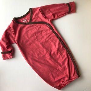 Babysoy Pink Kimono Gown